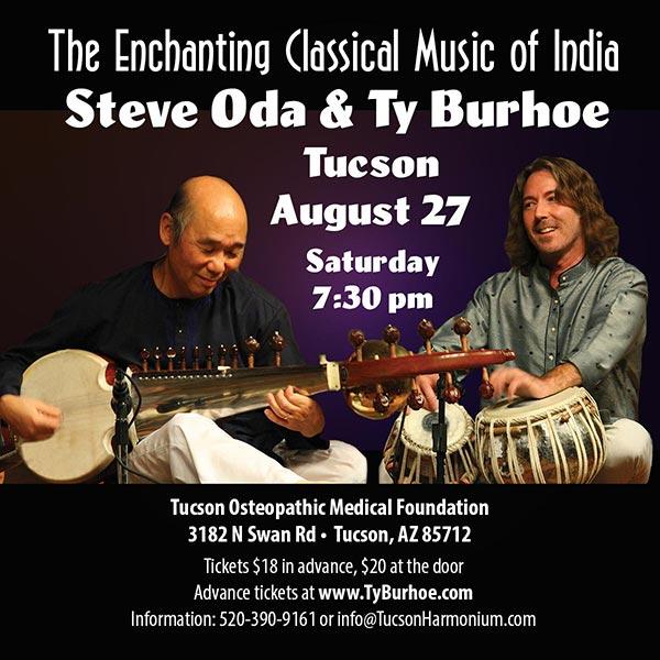 Steve Oda & Ty Burhoe Concert in Tucson